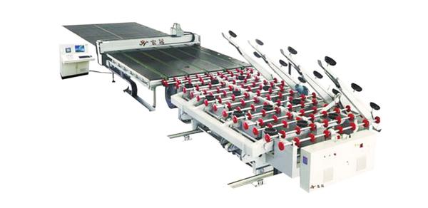 HY-4028全自动CNC玻璃切割流水线