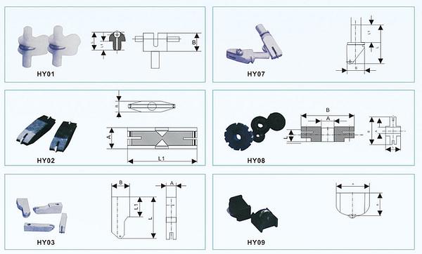 玻璃纵横切割刀夹系列产品